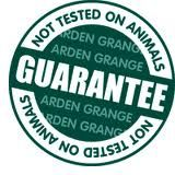 "ARDEN GRANGE ""GUARANTEE NOT TESTED ON ANIMALS"""